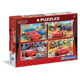 4 PUZZLES CARS 2X20PZ 2X60PZ
