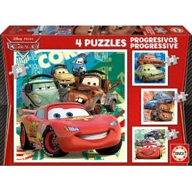 PUZZLE PROGRESIVO CARS 12+16+20+25