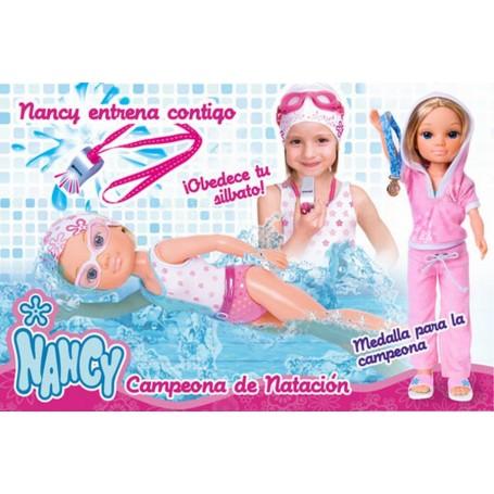 NANCY CAMPEONA DE NATACION