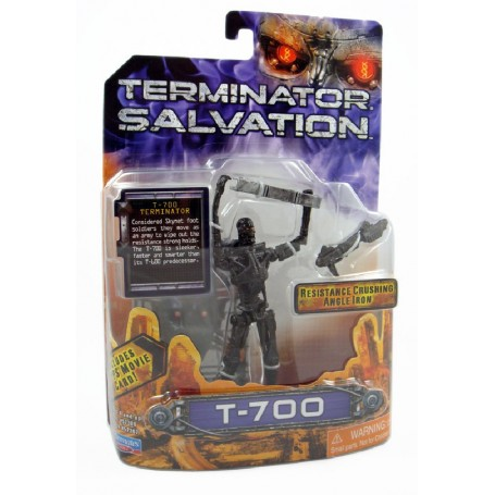 BLISTER TERMINATOR SALVATION FIGURA 18CM