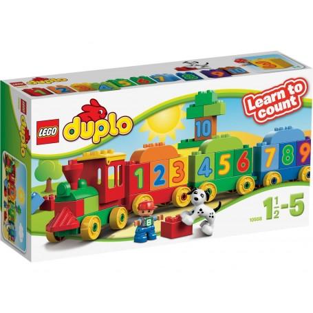 EL TREN DE LOS NUMEROS LEGO DUPLO 10558