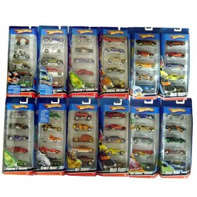 PACK 5 VEHICULOS HOT WHEELS (surtido)
