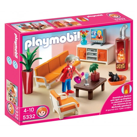 SALA DE ESTAR PLAYMOBIL 5332