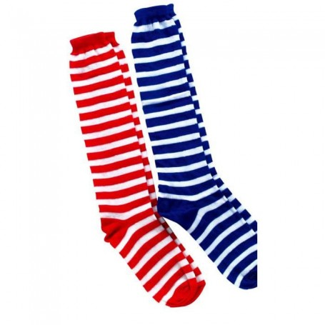 CALCETINES RAYAS COLORES