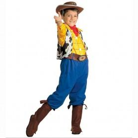 DISFRAZ COW-BOY WOODY 5-7 AÑOS