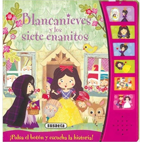 CUENTA CUENTOS  BLANCANIEVES Y LOS 7 ENANANITOS