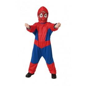DISFRAZ SPIDER HEROE 2-4 AÑOS