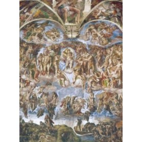 PUZZLE MICHELANGELO JUICIO UNIVERSAL 1000 PZAS