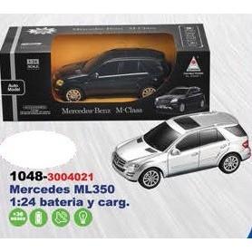 MERCEDES ML350 R/C BAT Y CARG 1:24