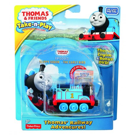 THOMAS & FRIENDS - LOCOMOTORA THOMAS CON DVD