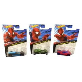 VEHICULO HOT WHEELS SPIDERMAN