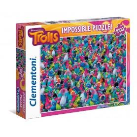PUZZLE IMPOSIBLE TROLLS 1000 PIEZAS