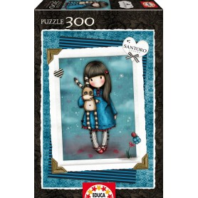 PUZZLE HUSH LITTLE BUNNY SANTORO 300 PIEZAS