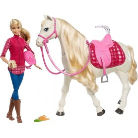 BARBIE - BARBIE Y CABALLO SUPER INTERACTIVO