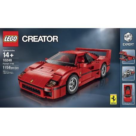 FERRARI F40 LEGO CREATOR 10248