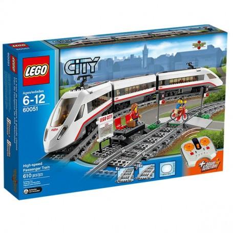 TREN DE PASAJEROS DE ALTA VELOCIDAD LEGO CITY