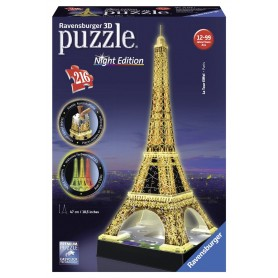 PUZZLE 3D TORRE EIFFEL NIGHT EDITION DE 216 PIEZAS