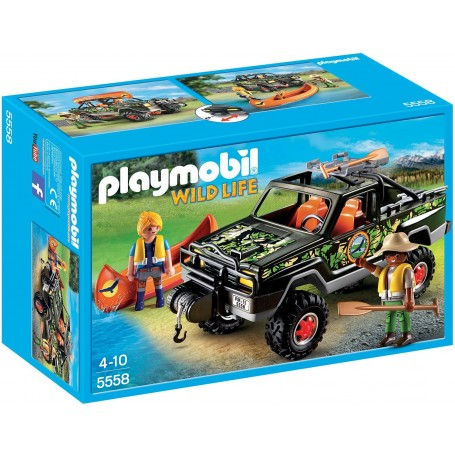 PICK UP DE AVENTURA PLAYMOBIL 5558