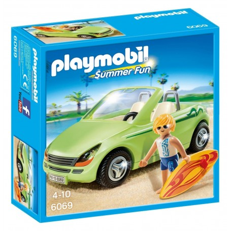 SURFISTA CON DESCAPOTABLE PLAYMOBIL 6069