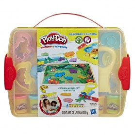PLAY-DOH CREA APRENDE Y GUARDA