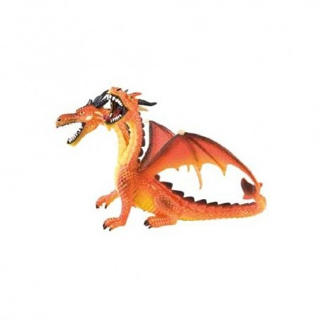 FIGURA DRAGON DOS CABEZAS ( BULLYLAND ) 75598