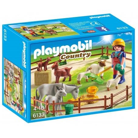 ANIMALES DE LA GRANJA PLAYMOBIL 6133