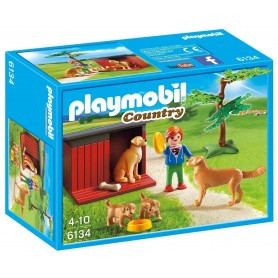 GOLDEN RETRIEVERS PLAYMOBIL 6134