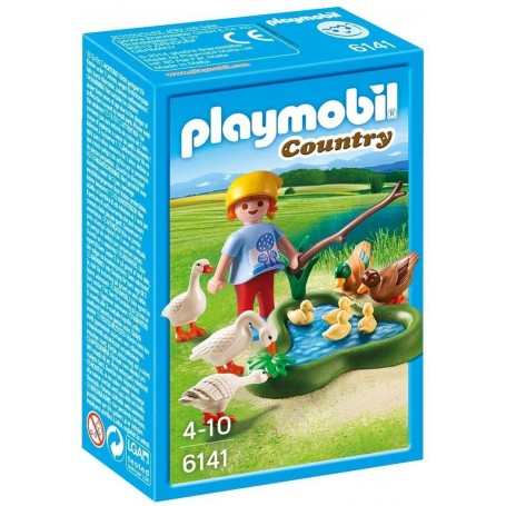 PATOS Y GANSOS PLAYMOBIL 6141