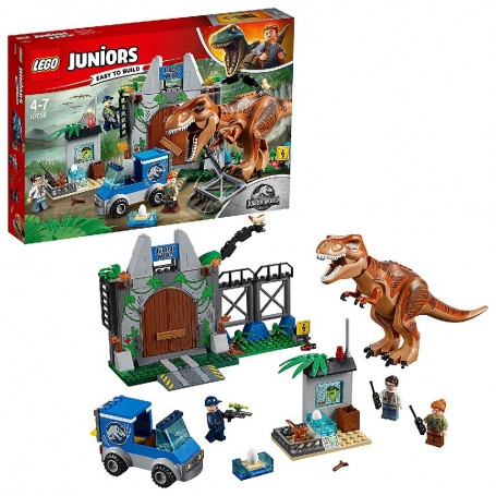 LEGO JUNIOR - FUGA DEL T. REX - 10758