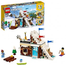 LEGO CREATOR - REFUGIO DE INVIERNO MODULAR 31080