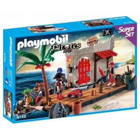 SUPERSET FUERTE PIRATA PLAYMOBIL 6146