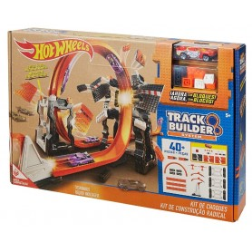 HOT WHEELS TRACK BUILDER CONSTRUCCIÓN CRASH KIT
