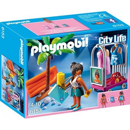 SESIÓN FOTOS EN LA PLAYA PLAYMOBIL 6153