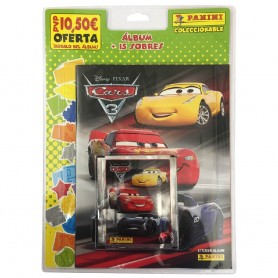 BLISTER (ÁLBUM + 15 SOBRES) CARS 3
