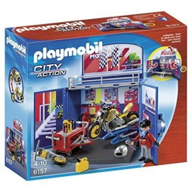 COFRE MOTOS PLAYMOBIL 6157