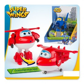 SUPER WINGS TRANSFORMABLE DE AVION A ROBOT (SURTIDO)