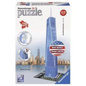PUZZLE 3D FREEDOM TOWER NEW WORLD TRADE CENTER