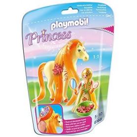 PRINCESA SOL CON CABALLO PLAYMOBIL 6168