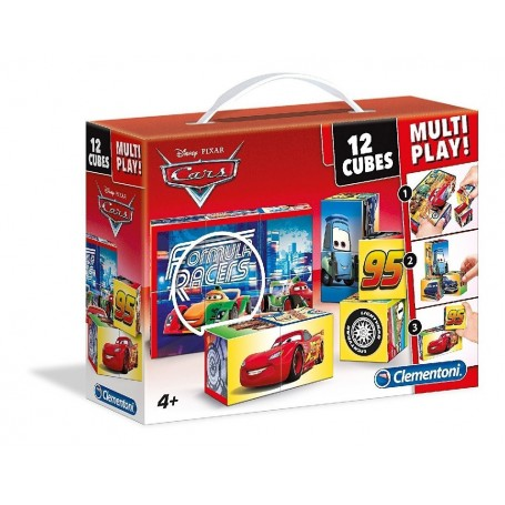 MALETÍN 12 CUBOS MULTI-PLAY CARS