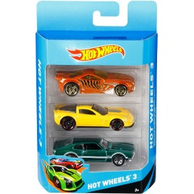 PACK DE 3 VEHICULOS HOT WHEELS