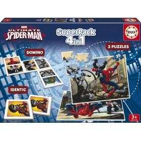 SUPERPACK 4 IN 1 ULTIMATE SPIDER-MAN