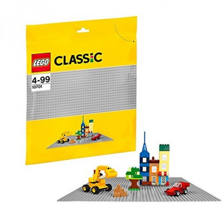 Base Gris LEGO grande 10701