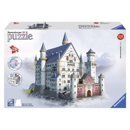 PUZZLE 3D CASTILLO DE NEUSCHWANSTEIN DE 216 PIEZAS