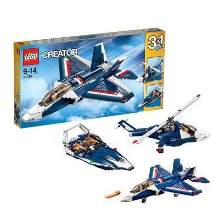 AVIÓN AZUL LEGO 31039