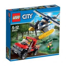 PERSECUCION EN HIDROAVION LEGO 60070