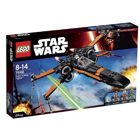 "LEGO STAR WARS - POE""S X-WING FIGHTER 75102"