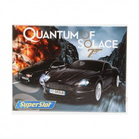 PACK JAMES BOND QUANTUM OF SOLACE SUPERSLOT SCLAEXTRIC