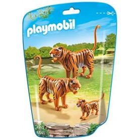FAMILIA DE TIGRES PLAYMOBIL 6645