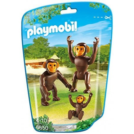 CHIMPANCÉS PLAYMOBIL 6650