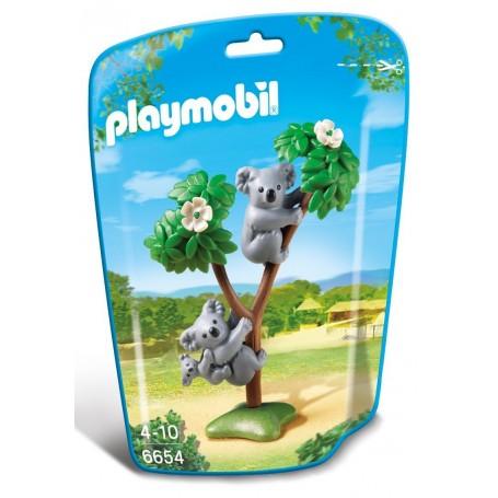 FAMILIA DE KOALAS PLAYMOBIL 6654